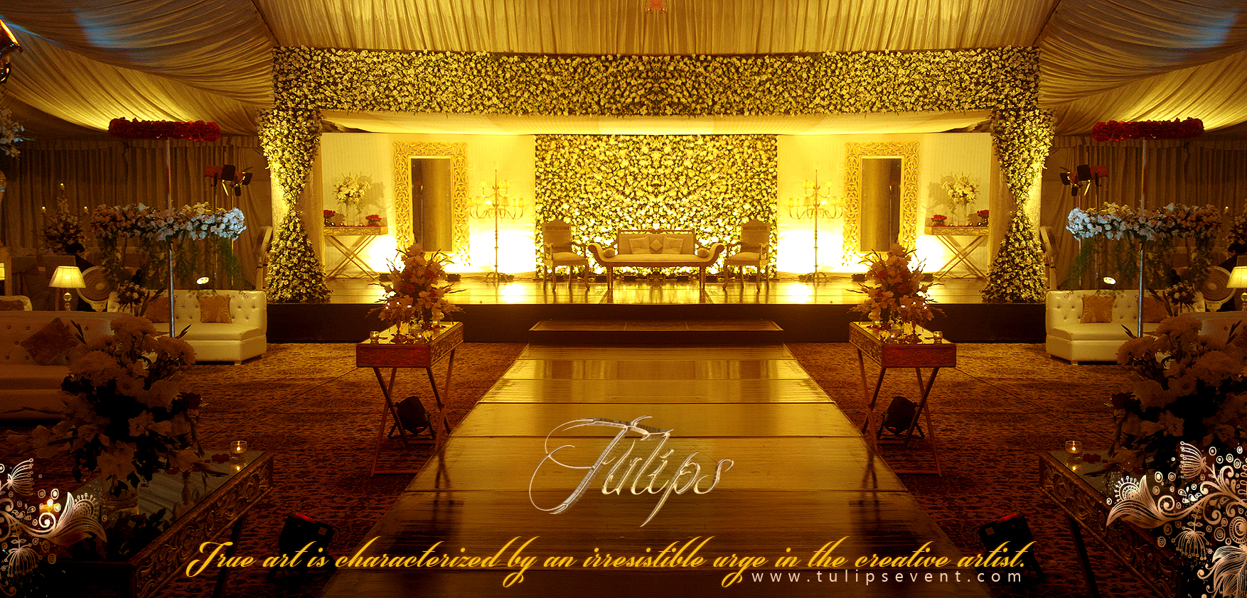 Best themed wedding reception stage decoration baraat for The best wedding decorations