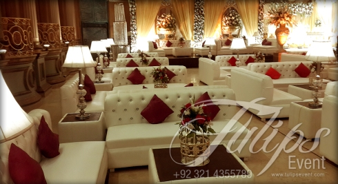 Grand Walima Stage Decoration Setup Planner in Lahore Pakistan 08