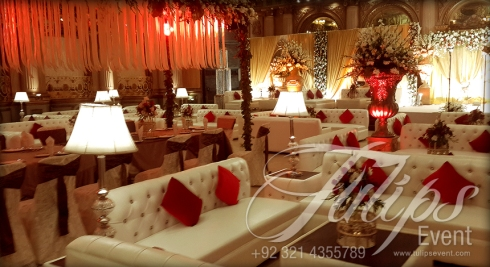 Grand Walima Stage Decoration Setup Planner in Lahore Pakistan 09