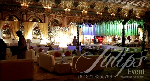 Grand Walima Stage Decoration Setup Planner in Lahore Pakistan 23
